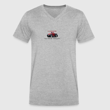 1940ford - Men's V-Neck T-Shirt by Canvas