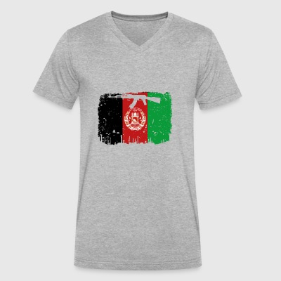 homeland fight ak 47 heimat roots Afghanistan png - Men's V-Neck T-Shirt by Canvas