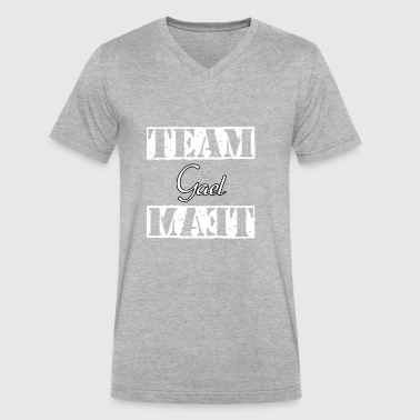 Team Gael - Men's V-Neck T-Shirt by Canvas