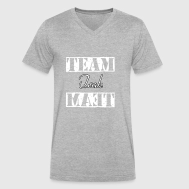 Team Isak - Men's V-Neck T-Shirt by Canvas