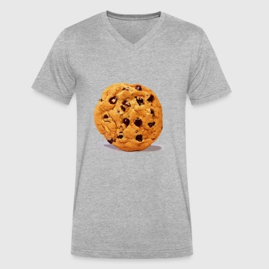cookie - Men's V-Neck T-Shirt by Canvas