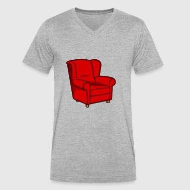 armchair - Men's V-Neck T-Shirt by Canvas