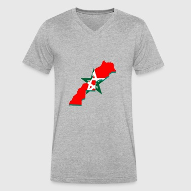 Morocco - Men's V-Neck T-Shirt by Canvas