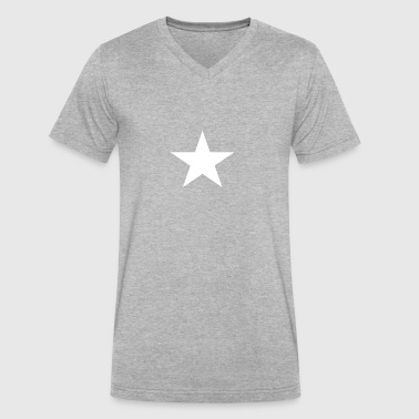 Lone Star - Men's V-Neck T-Shirt by Canvas