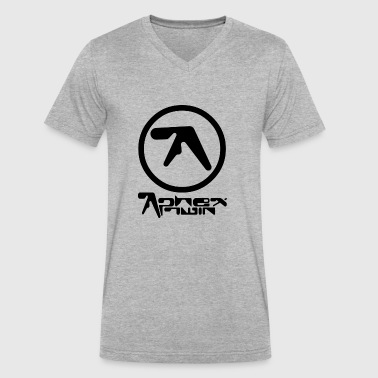 Aphex - Men's V-Neck T-Shirt by Canvas
