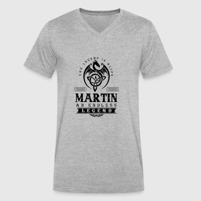 MARTIN - Men's V-Neck T-Shirt by Canvas