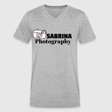 Sabrina Photography - Men's V-Neck T-Shirt by Canvas