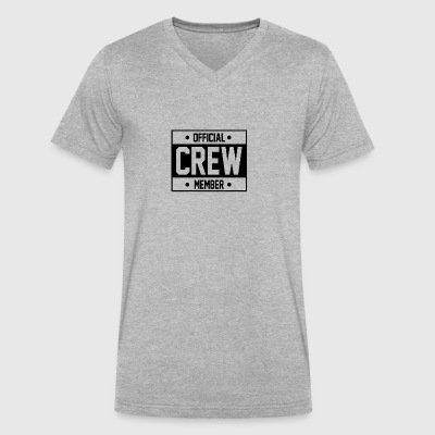 Crew Member - Men's V-Neck T-Shirt by Canvas