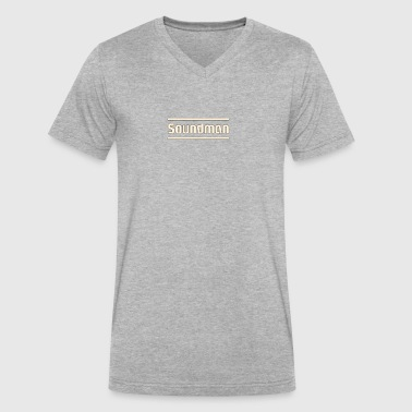 Soundman - Men's V-Neck T-Shirt by Canvas