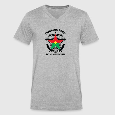 BURKINA_FASO - Men's V-Neck T-Shirt by Canvas