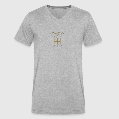 JWM and Co Shift Knob - Golden Standard - Men's V-Neck T-Shirt by Canvas