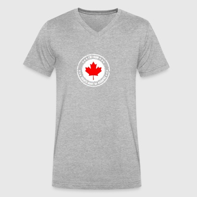 I'm from SAINTE-ANNE-DE-BEAUPRÉ - Men's V-Neck T-Shirt by Canvas