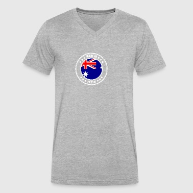 MADE IN PERTH - Men's V-Neck T-Shirt by Canvas