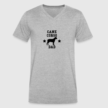 Cane Corso Dad - Men's V-Neck T-Shirt by Canvas