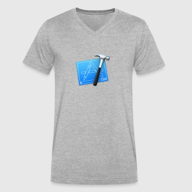 XCode - Men's V-Neck T-Shirt by Canvas