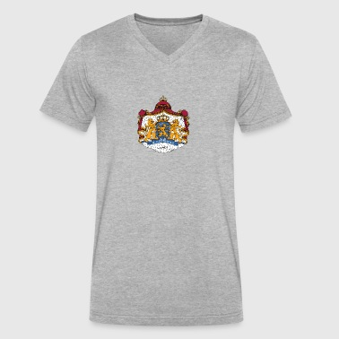 National Coat Of Arms Of The Netherlands - Men's V-Neck T-Shirt by Canvas