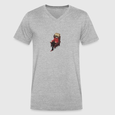 Radiohead - Men's V-Neck T-Shirt by Canvas