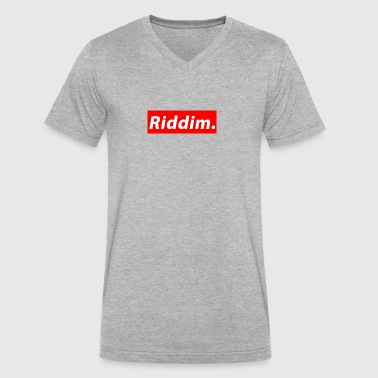Riddim - Men's V-Neck T-Shirt by Canvas