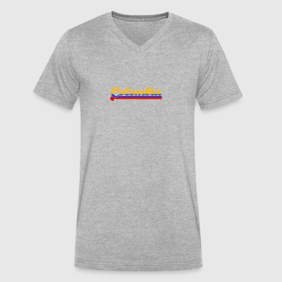Colombia - Men's V-Neck T-Shirt by Canvas