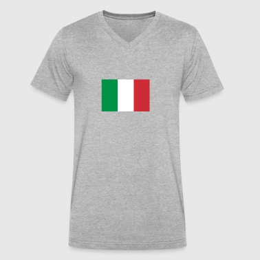 Males Italy clothing - Men's V-Neck T-Shirt by Canvas