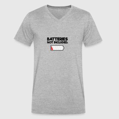Batteries not included - Men's V-Neck T-Shirt by Canvas
