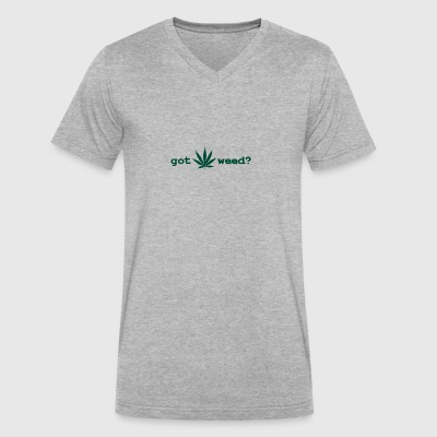 GotWeed - Men's V-Neck T-Shirt by Canvas