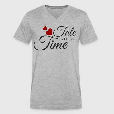Tale as Old as Time - Men's V-Neck T-Shirt by Canvas