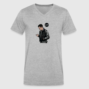 G eazy Artist - Men's V-Neck T-Shirt by Canvas