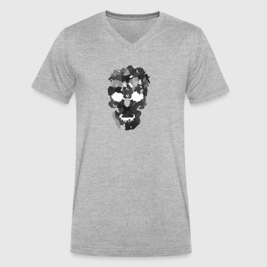 skull 311921 1280 - Men's V-Neck T-Shirt by Canvas