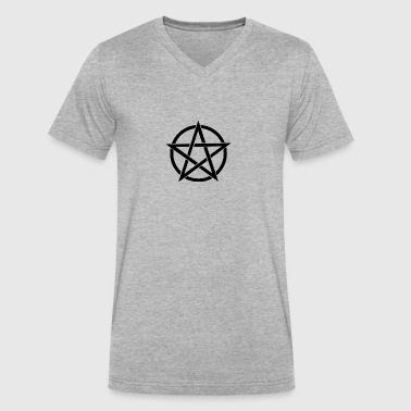 Witches Brew Ejuice Pentagram - Men's V-Neck T-Shirt by Canvas