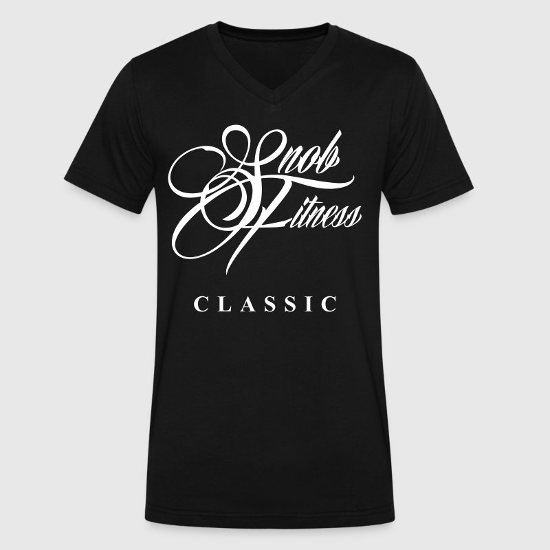 Snob Fitness Classic  - Men's V-Neck T-Shirt by Canvas