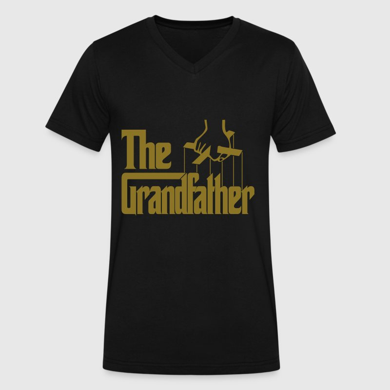 The Grandfather - Men's V-Neck T-Shirt by Canvas