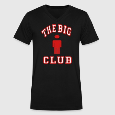 THE BIG DICK CLUB - Men's V-Neck T-Shirt by Canvas