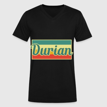 Durian Durian - Men's V-Neck T-Shirt by Canvas