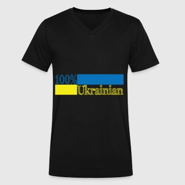 Ukraine Russia Crimea Ukraine - Men's V-Neck T-Shirt by Canvas
