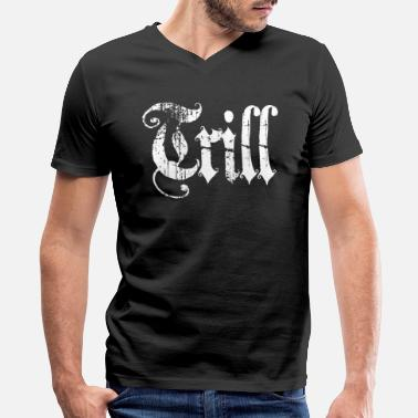 Doping Trill trill - Men's V-Neck T-Shirt by Canvas