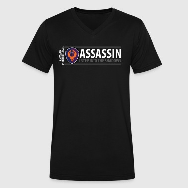 Amtgard Shield Series: Assassin - Men's V-Neck T-Shirt by Canvas