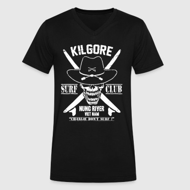 Kilgore Kilgore Surf Club - Men's V-Neck T-Shirt by Canvas
