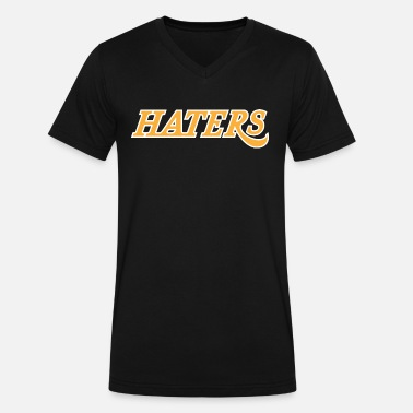 Hater Sports haters - Men's V-Neck T-Shirt by Canvas