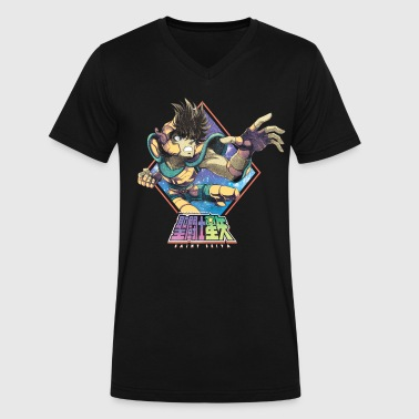 Saint Seiya - Men's V-Neck T-Shirt by Canvas