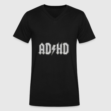 AD HD - Men's V-Neck T-Shirt by Canvas