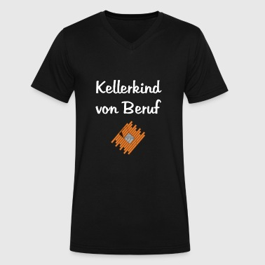 Kellerkind Von Beruf - Men's V-Neck T-Shirt by Canvas