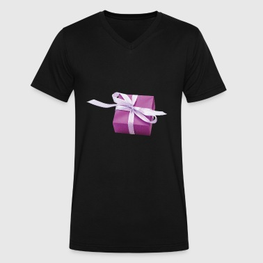 Christmas Present Christmas Presents - Men's V-Neck T-Shirt by Canvas