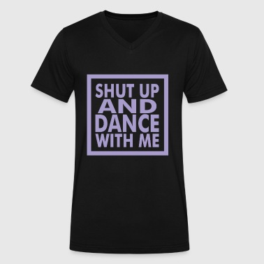Dance with me - Men's V-Neck T-Shirt by Canvas