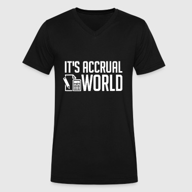 Accountant - funny accounting / accountant's it' - Men's V-Neck T-Shirt by Canvas