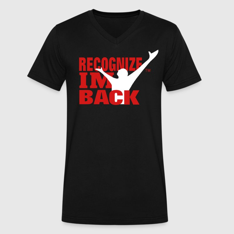 RECOGNIZE I'M BACK - Men's V-Neck T-Shirt by Canvas