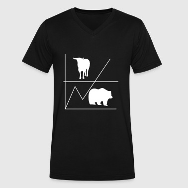 Bull And Bear Bull & Bear - Men's V-Neck T-Shirt by Canvas