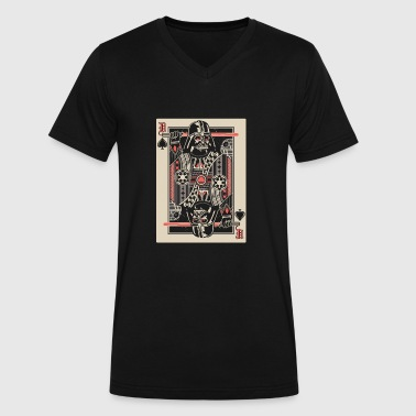 Porn Dice Star wars poker cards lover - Men's V-Neck T-Shirt by Canvas
