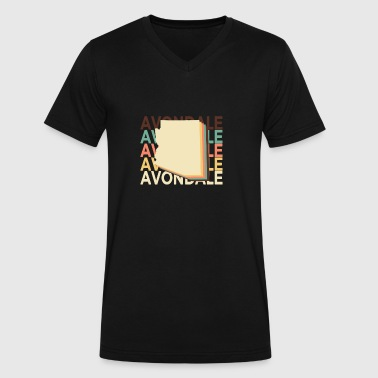 Vintage Arizona Avondale Arizona Vintage Repeat - Men's V-Neck T-Shirt by Canvas