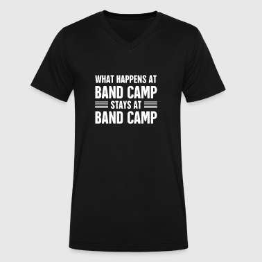 Awesome Band Band Camp | Marching Band - Men's V-Neck T-Shirt by Canvas